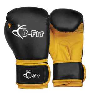 Professional Leather Boxing Gloves, Cuff with Velcro. BF-3503.01